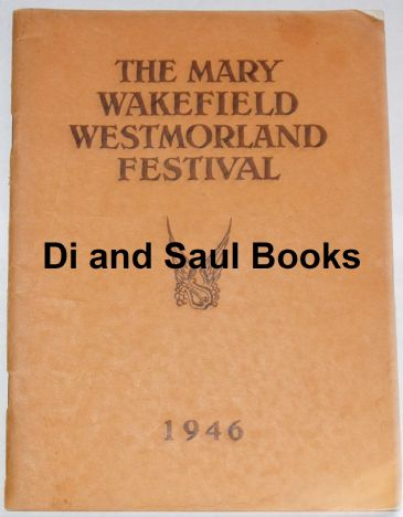 The Mary Wakefield Westmorland Festival 1946